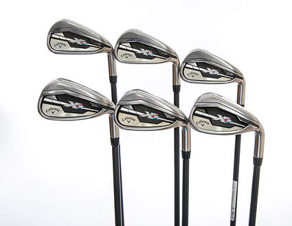 Callaway XR Iron Set 5-PW Project X 5.5 Graphite Graphite Regular Right Handed 38.5in