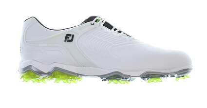 New Mens Golf Shoe Footjoy Tour-S Size 9 Medium White/Green 55300 MSRP $249.95