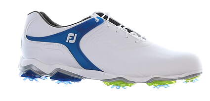 New Mens Golf Shoe Footjoy Tour-S Size 9.5 Medium White/Green 55301MSRP $250