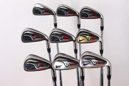 Nike Victory Red Pro Cavity Iron Set 3-PW GW True Temper Dynamic Gold X100 Steel X-Stiff Right Handed 38.25in