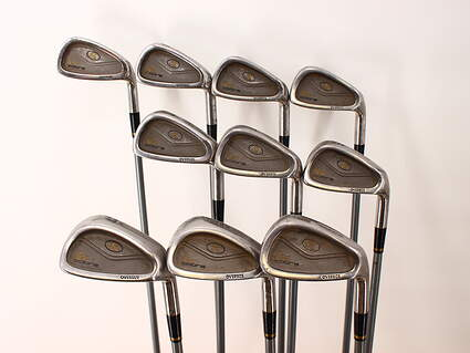 Cobra King Cobra Oversize Senior Iron Set 3-PW GW SW Stock Graphite Shaft Graphite Regular Right Handed 37.5in