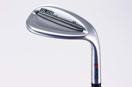 Ping Glide 2.0 Wedge Lob LW 58° 10 Deg Bounce Nippon NS Pro 850GH Steel Regular Right Handed Red dot 35.25in