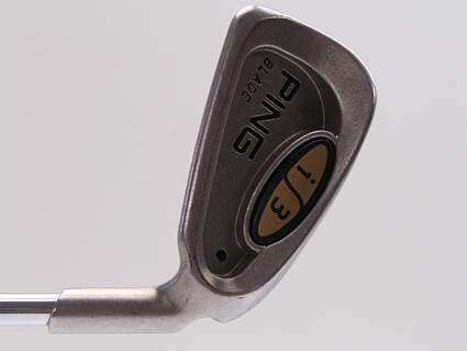 Ping i3 Blade Single Iron 3 Iron Ping JZ Steel Stiff Right Handed Black Dot 39.0in
