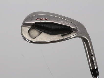 Ping Tour Gorge Wedge Lob LW 58° Thin Sole True Temper Dynamic Gold Steel Stiff Right Handed Black Dot 35.5in
