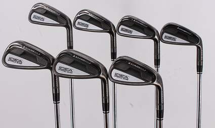 Adams Idea Pro A12 Iron Set 4-PW Nippon NS Pro 950GH Steel Stiff Right Handed 37.0in