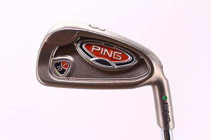 Ping i10 Single Iron 3 Iron Ping Z-Z65 Steel Stiff Right Handed Green Dot 39.25in