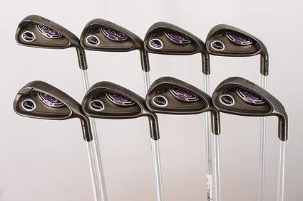 Ping Rhapsody Iron Set 5-PW GW SW Ping ULT 129I Ladies Graphite Ladies Right Handed Black Dot 37.5in