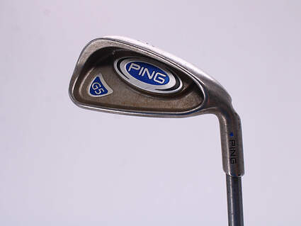 Ping G5 Single Iron 6 Iron Ping TFC 100I Graphite Senior Right Handed Blue Dot 37.25in