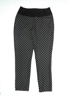 New Womens Puma PWRSHAPE Checker Pants Small S Puma Black 577955 02 MSRP $85
