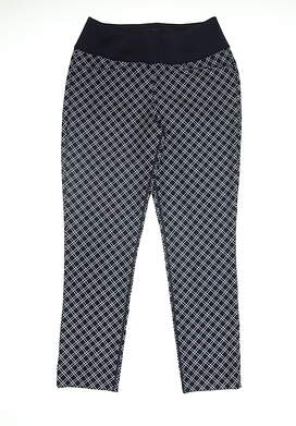 New Womens Puma PWRSHAPE Checker Pants Small S Peacoat 577955 01 MSRP $85