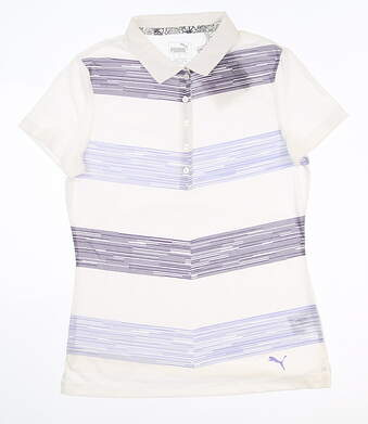 New Womens Puma Race Day Polo Small S Sweet Lavender 577925 02 MSRP $60