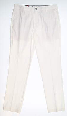 New Mens Puma Tailored Proven Pants 32 x32 White 578720 05 MSRP $85