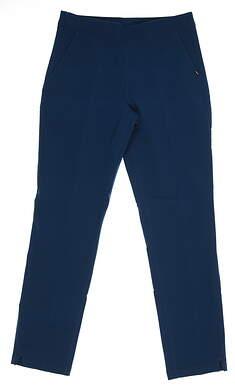 New Womens Puma Golf Pants Small S Blue 595166 03