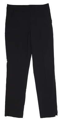 New Womens Puma Golf Pants Small S Black 595166 01 MSRP $75