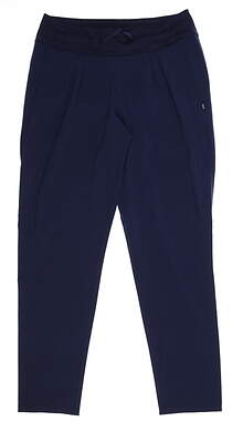 New Womens Puma Joggers Small S Navy Blue MSRP $75