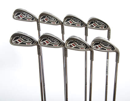 Ping G15 Iron Set 4-PW SW Ping AWT Steel Stiff Right Handed Black Dot 37.75in