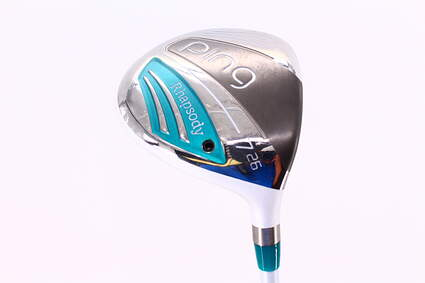 Mint Ping 2015 Rhapsody Fairway Wood 7 Wood 7W 26° Ping ULT 220F Lite Graphite Ladies Right Handed 41.25in