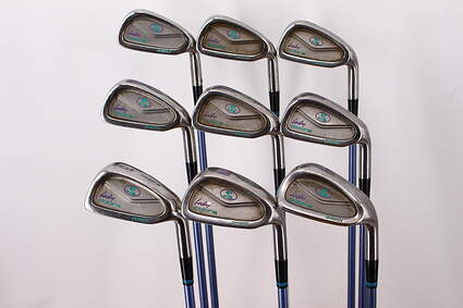 Cobra Lady Cobra Iron Set 3-PW SW Stock Graphite Shaft Graphite Ladies Right Handed 36.0in