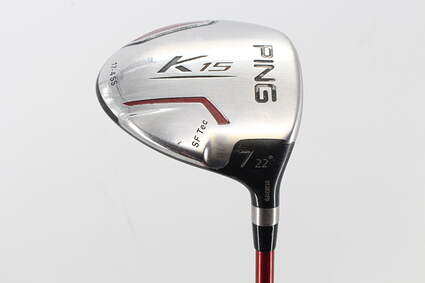Ping K15 Fairway Wood 7 Wood 7W 22° Ping TFC 149F Graphite Regular Right Handed 41.75in