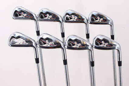 Callaway X Tour Iron Set 3-PW Project X Rifle Steel X-Stiff Right Handed 38.0in