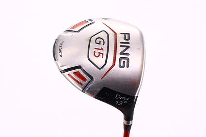 Ping G15 Draw Driver 12° Ping TFC 149D Graphite Senior Right Handed 45.75in