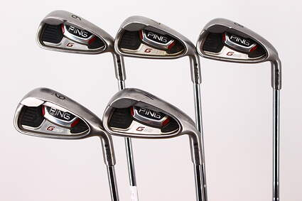 Ping G20 Iron Set 6-PW Ping CFS Steel Stiff Right Handed Black Dot 38.0in