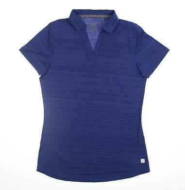 New Womens Puma Coastal Polo Small S Dazzling Blue 595136 08 MSRP $55
