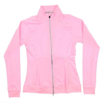 New Womens Puma Vented Jacket Small S Pale Pink Heather 577937 03 MSRP $75