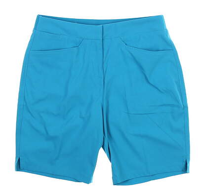 New Womens Puma Pounce Bermuda Shorts Small S Caribbean Sea 577944 05 MSRP $65