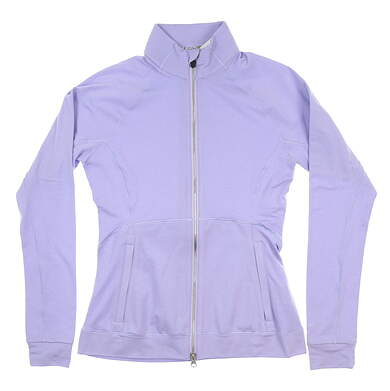 New Womens Puma Vented Jacket Small S Sweet Lavender Heather 577937 04 MSRP $75