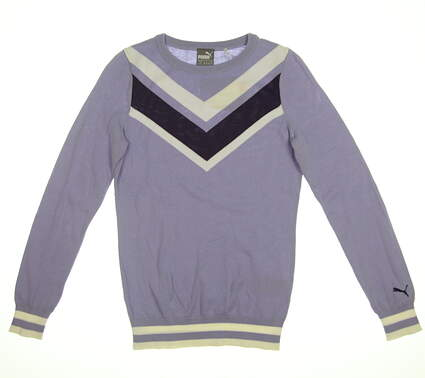 New Womens Chevron Sweater Small S Sweet Lavender 577941 02 MSRP $75