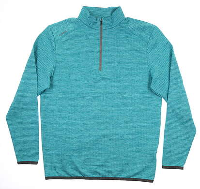 New Mens Ping Eden 1/4 Zip Pullover Large L Lake Blue S03364 MSRP $89