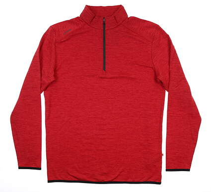 New Mens Ping Elden 1/4 Zip Pullover Large L Iron Red S03364 MSRP $89