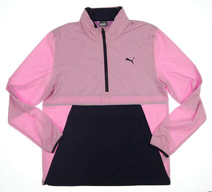 New Mens Puma Retro Wind Jacket Medium M Pale Pink 577896 02 MSRP $90