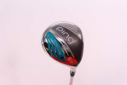 Mint Ping 2015 Rhapsody Fairway Wood 5 Wood 5W 22° Ping ULT 220F Lite Graphite Ladies Right Handed 41.75in