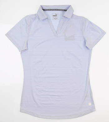 New Womens Puma Coastal Golf Polo Small S Heather 595136 01 MSRP $55