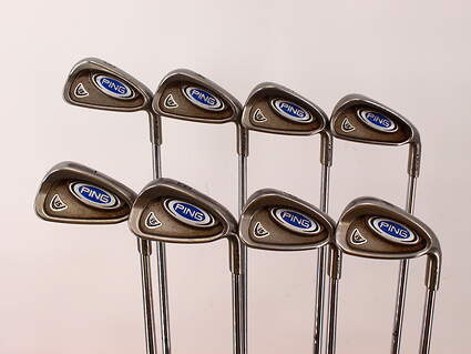 Ping i5 Iron Set 3-PW True Temper Steel Regular Right Handed Black Dot 37.75in