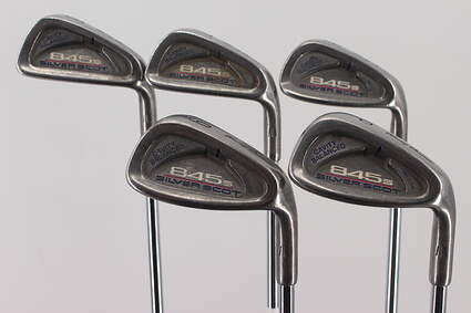 Tommy Armour 845 FS Silver Scot Iron Set 6-PW Stock Steel Shaft Steel Regular Right Handed 34.5in