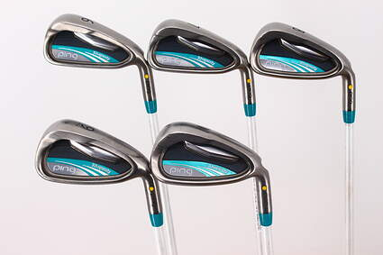 Ping 2015 Rhapsody Iron Set 6-PW Ping ULT 220F Lite Graphite Lite Right Handed Yellow Dot 37.0in