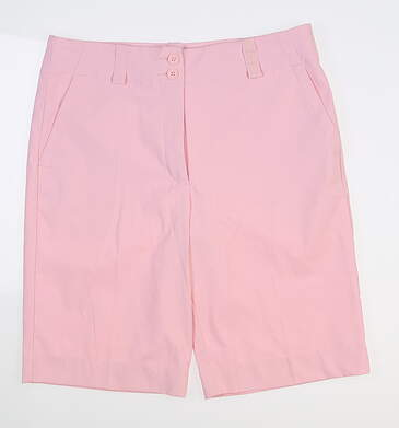 New Womens Nike Shorts 6 Pink MSRP $50