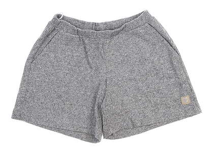 New Womens Straight Down Misty Lounge Shorts Small S Gray W40110 MSRP $68