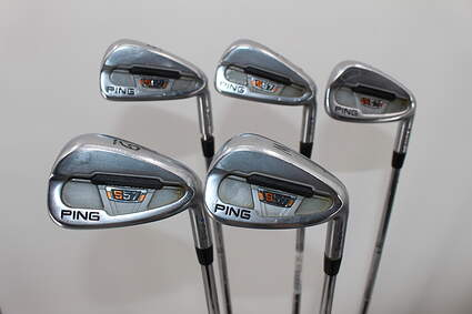 Ping S57 Iron Set 6-PW True Temper Dynamic Gold X100 Steel X-Stiff Right Handed Blue Dot