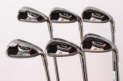 Ping G20 Iron Set 5-PW Ping TFC 169I Graphite Regular Right Handed Yellow Dot 38.0in