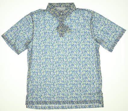 New Mens Straight Down Capulet Gofl Polo Large L Multi 14718 MSRP $84