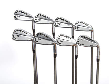 PXG 0311T Chrome Iron Set 4-GW Aerotech Steelfiber i125cw Graphite X-Stiff Right Handed 38.25in