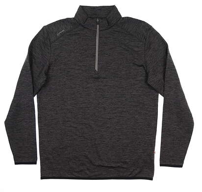 New Mens Ping Elden 1/4 Zip Pullover Large L Asphalt S03364 MSRP $89