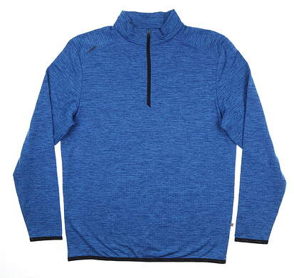 New Mens Ping Elden 1/4 Zip Pullover Large L Snorkel Blue S03364 MSRP $89