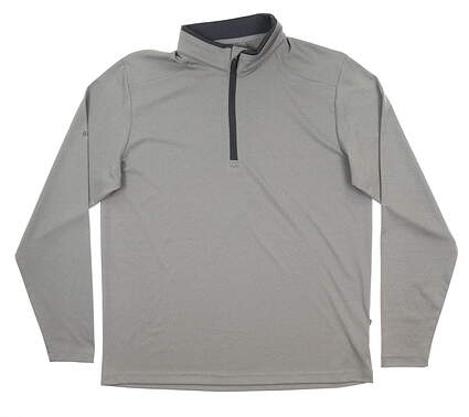 New Mens Ping Truman 1/4 Zip Pullover Large L Gray MSRP $79