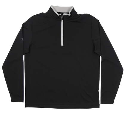 New Mens Ping Truman 1/4 Zip Pullover Large L Black S03285 MSRP $79