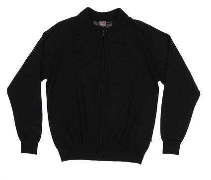 New Mens Ping Pax Sweater Large L Black S03321 MSRP $169